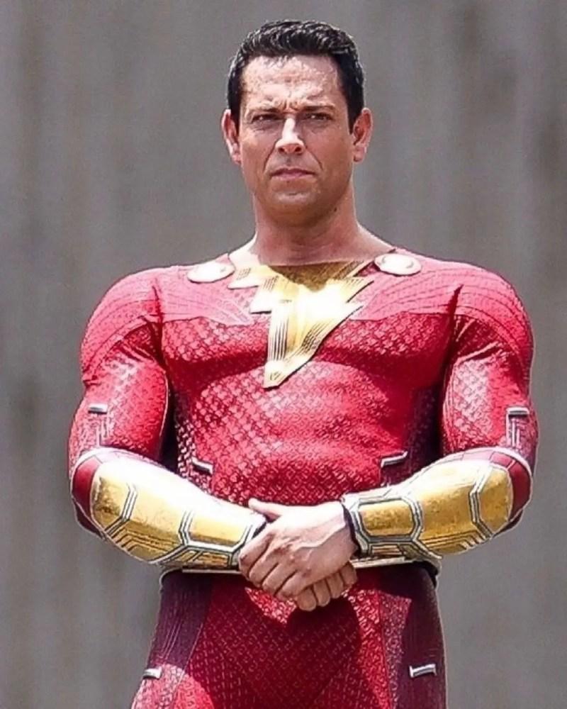 Shazam new suit