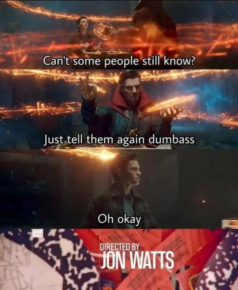 Spider-man trailer memes