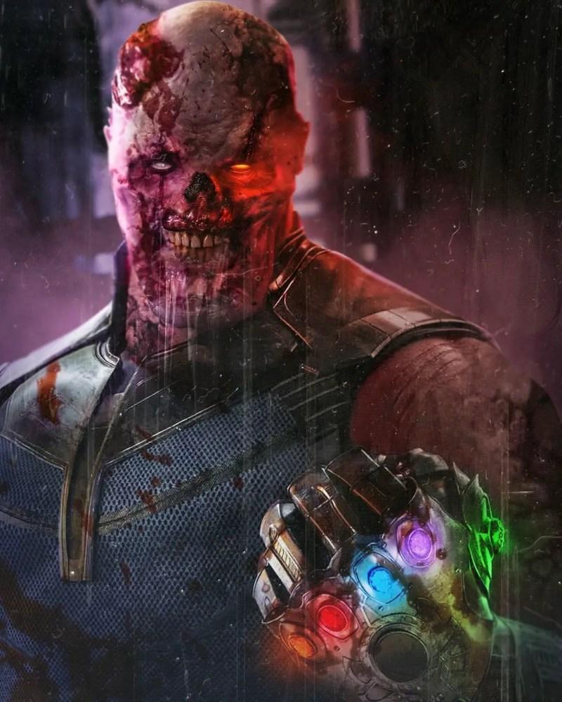 Marvel Zombies Thanos