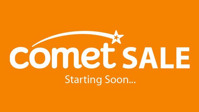comet fire sale image