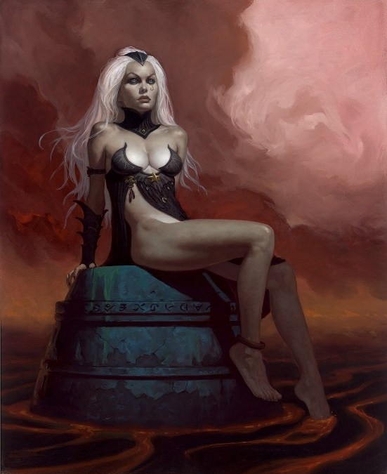 Gerald Brom, our Featured Artist of the Month