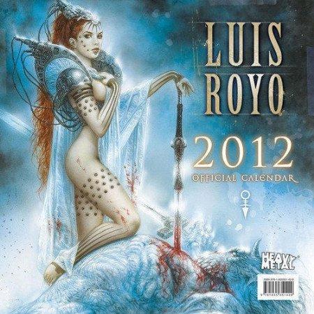 luis royo calendar 2012 1