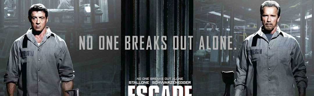"First Trailer for Stallone and Schwarzenegger's ""Escape Plan"""