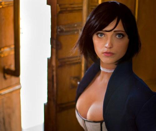 Anna Transforms to Elizabeth from BioShock