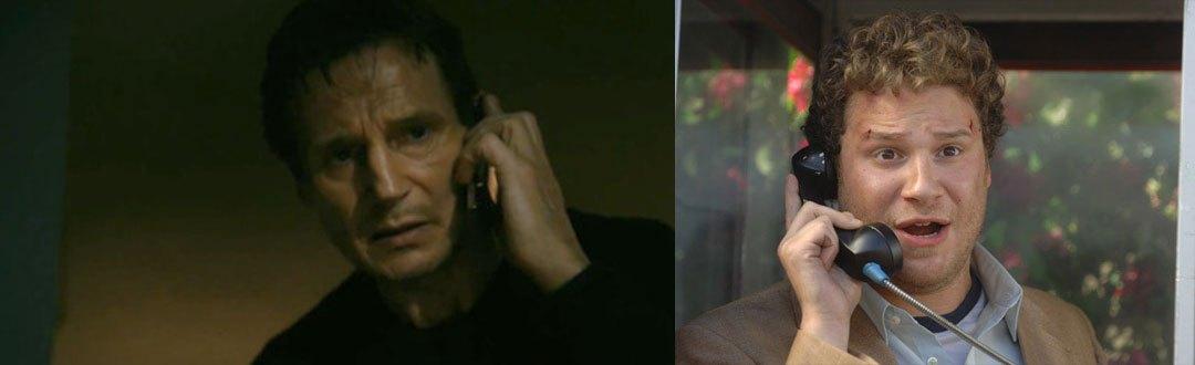Awesome Taken Pineapple Express Phone Call Mashup