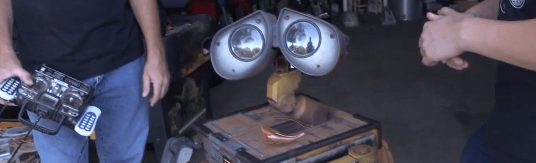 Real Wall-E Robot Built From Scratch