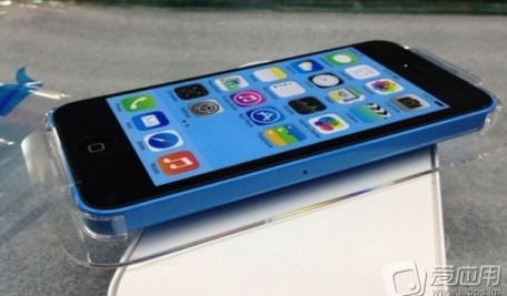 Blue Packaged iPhone 5C