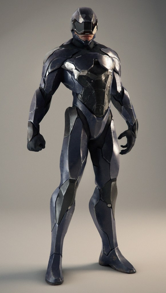 The new look for Robocop