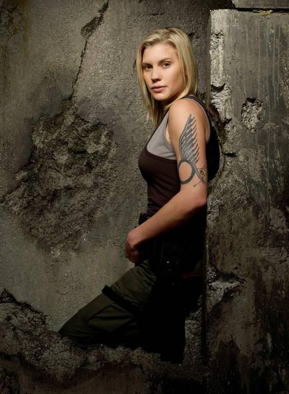 Katee Sackhoff as Starbuck