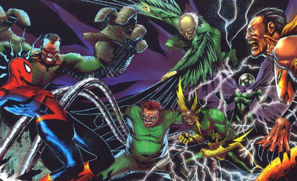 """Sinister Six"" is lead by Doctor Octopus. The member include Vulture, Electro, Kraven the Hunter, Mysterio, and Sandman"
