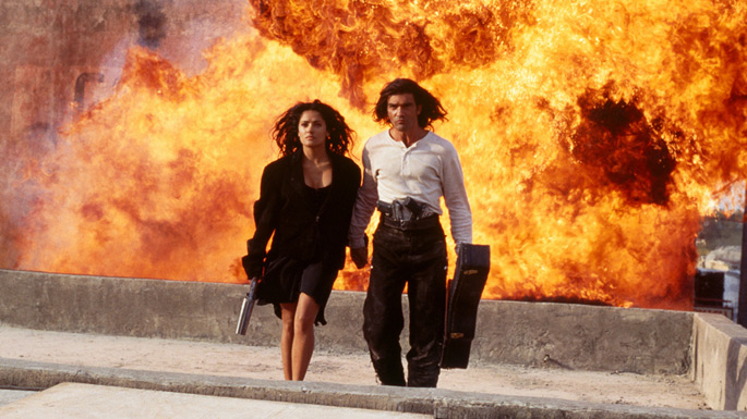 Top 10 Cool guys walking away from explosions