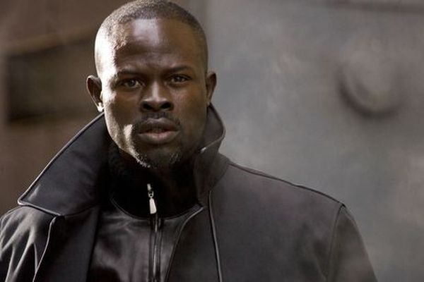 """Blood Diamond"" co-star Djimon Hounsou"