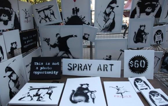 Banksy Spray Art
