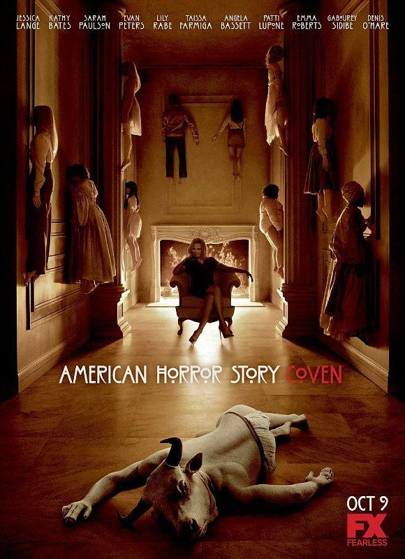 """""""American Horror Story: Coven"""" promotional poster"""