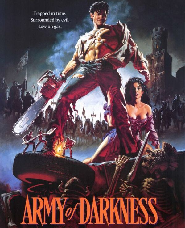 """Army of Darkness"" is the third installment of The Evil Dead franchise"