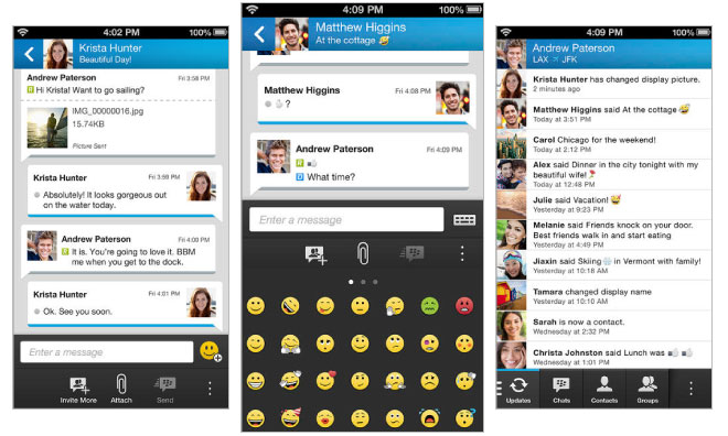 Blackberry BBM Finally Available on iOS and Android