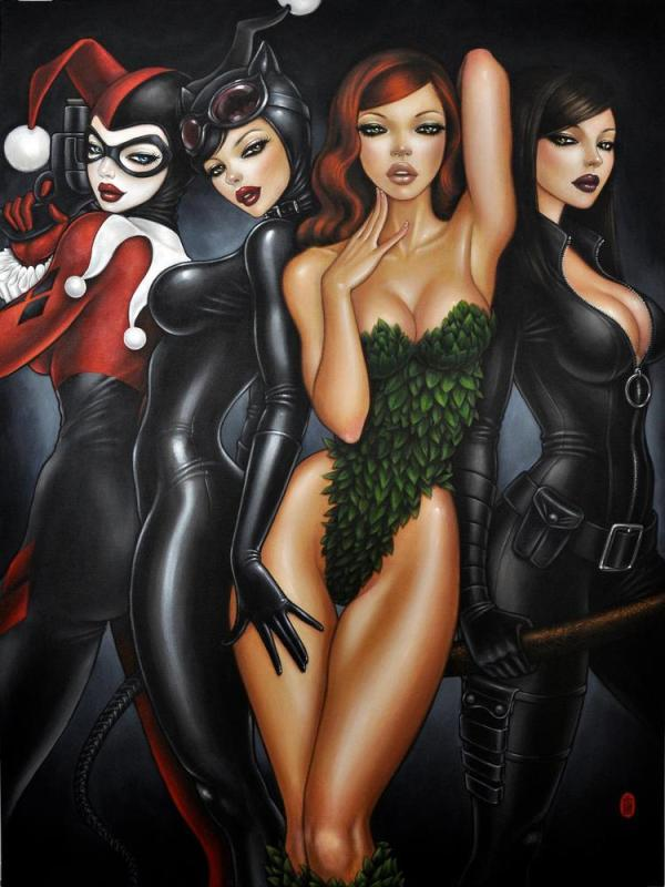 Bad Girls of Batman