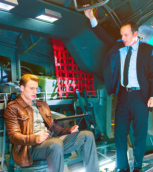 Agents of S.H.I.E.L.D. Eyes Captain America Crossover Next