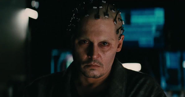 Full Trailer for Johnny Depp in Sci-Fi Thriller Transcendence