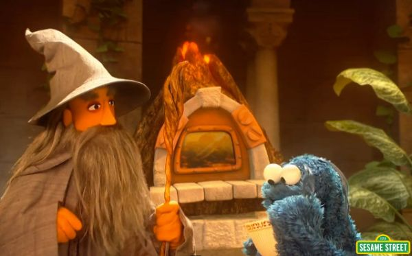 'Sesame Street' Spoofs 'Lord of the Rings'