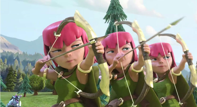Clash of Clans TV Commercial is Awesome
