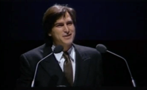 Unseen Steve Jobs Presentation of First Mac Surfaces
