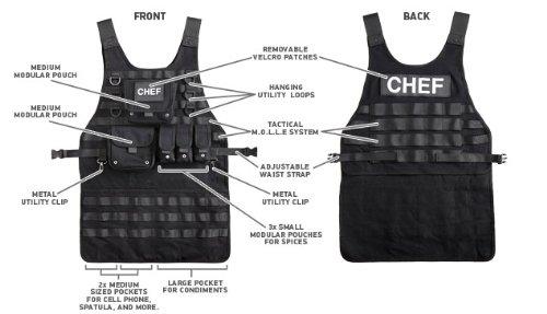 Tactical BBQ Apron 2