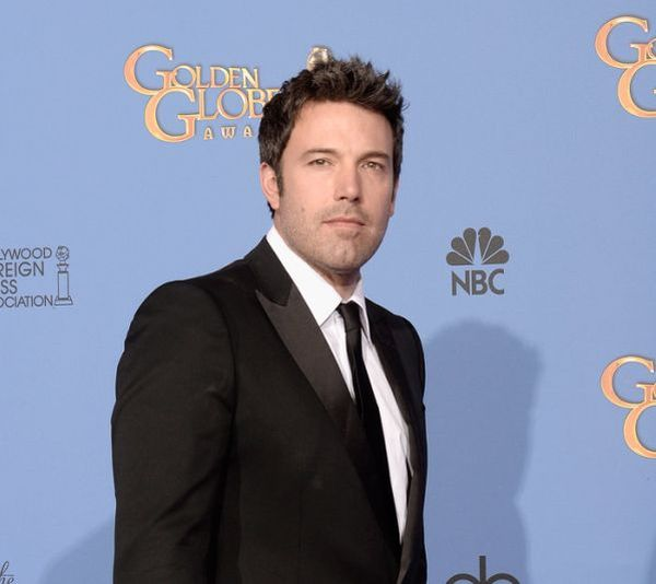 Ben Affleck at the Golden Globes in L.A. this week