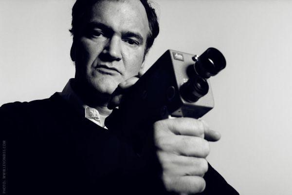 Quentin Tarantino image courtesy of Levonbiss.com