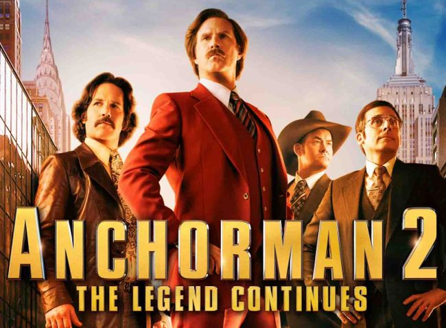 R-Rated 'Anchorman 2' on the Way with 763 New Jokes