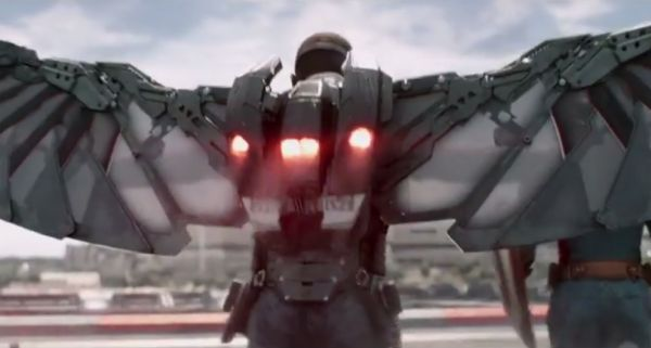 New 'Captain America 2' Teaser Features Falcon's Jetpack Wingsuit