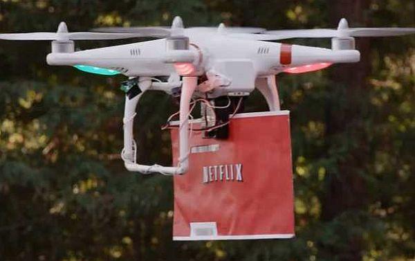 Netflix Release Amazon Drone Parody Video