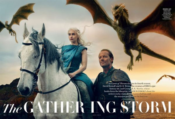"""Game of Thrones"" Image courtesy of Vanity Fair"