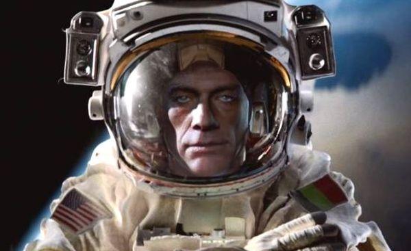 Jean-Claude Van Damme Takes His Epic Split to Space