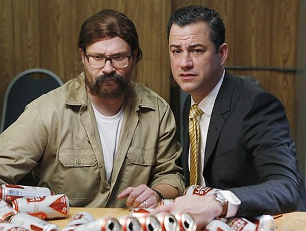 Jimmy Kimmel and Seth Rogen Spoof 'True Detective'