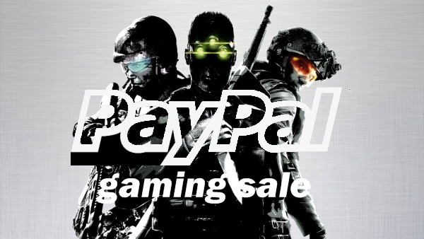 Check out the PayPal Gaming Sale