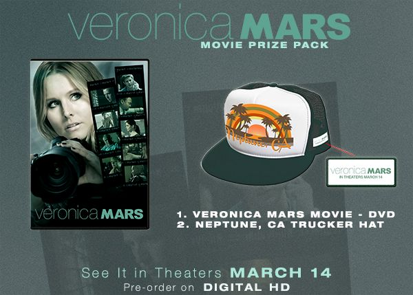 Contest: 'Veronica Mars' Prize Pack Giveaway