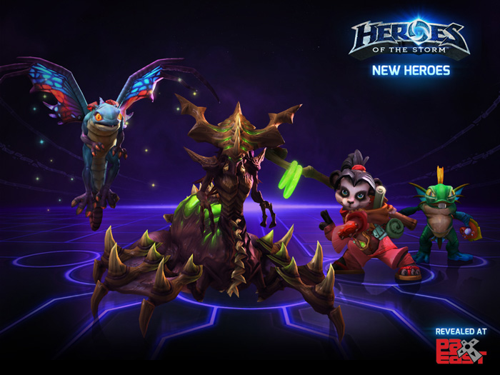 Blizzard Reveals New Heroes for Heroes of the Storm