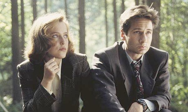 """Gillian Anderson and David Duchovny played FBI agents on """"X-Files"""""""