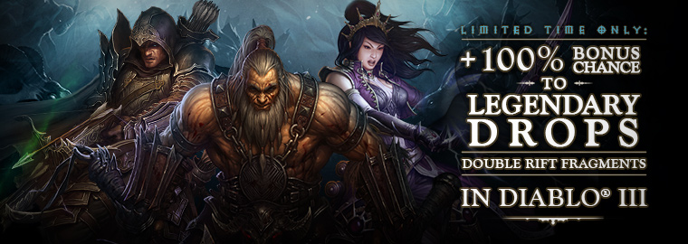 Blizzard Launches Diablo 3 Birthday Specials