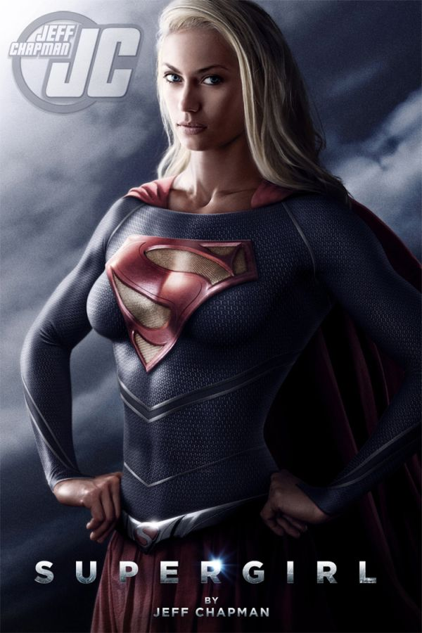 Supergirl 'Girl of Steel' Illustrations By Jeff Chapman