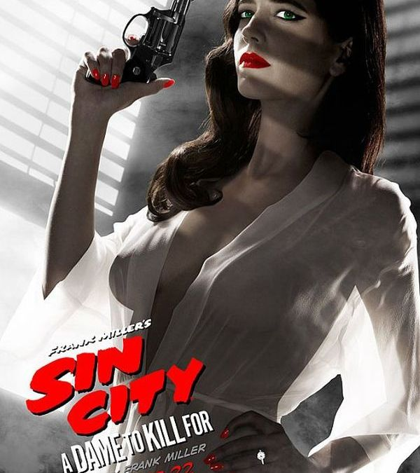 Eva Green's Revealing 'Sin City: A Dame to Kill For' Poster Banned by MPAA