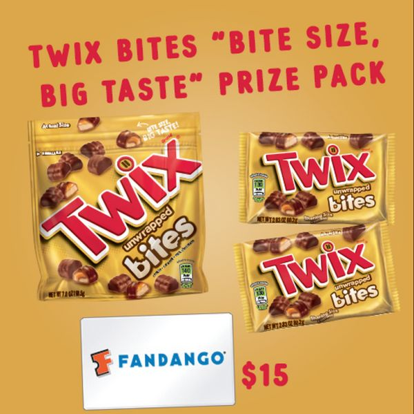 Contest: Twix Bites Movie Prize Pack Giveaway