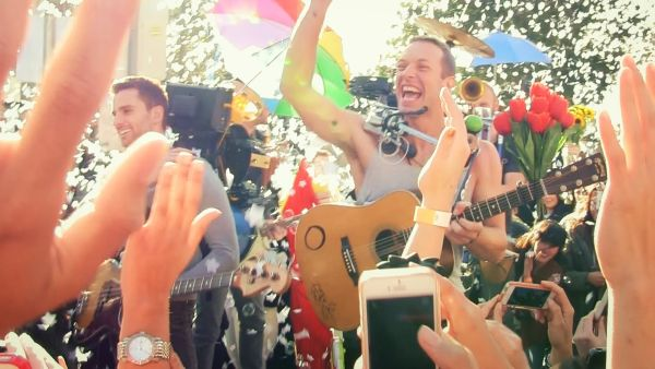 Coldplay Releases Fun-Filled Music Video for 'A Sky Full of Stars'
