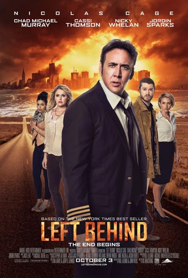 """Left Behind"" Poster"