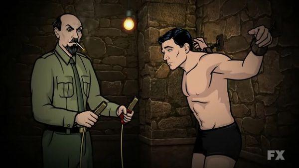 Archer being interoggated