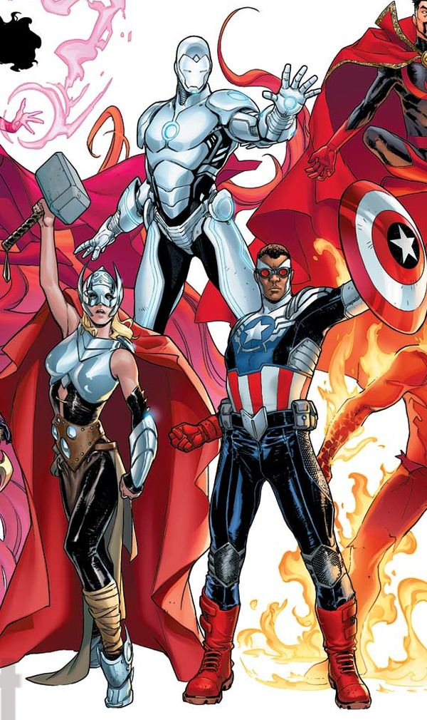 'Avengers NOW!' image courtesy of Entertainment Weekly