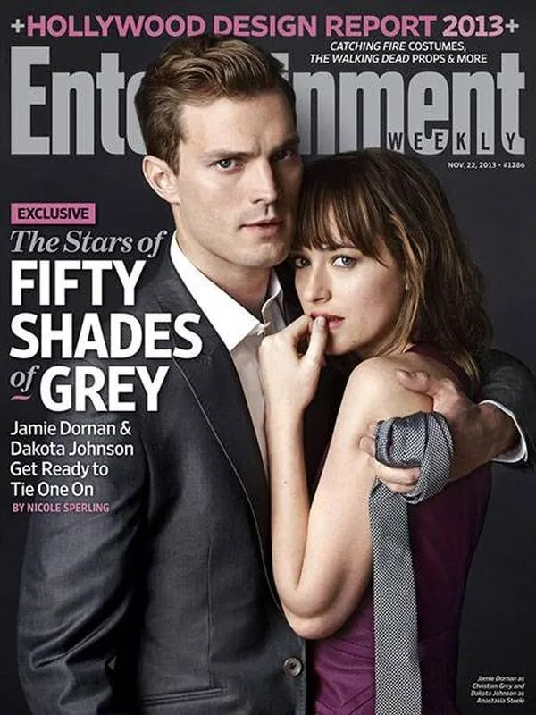 'Fifty Shades of Grey' cover by EW.com