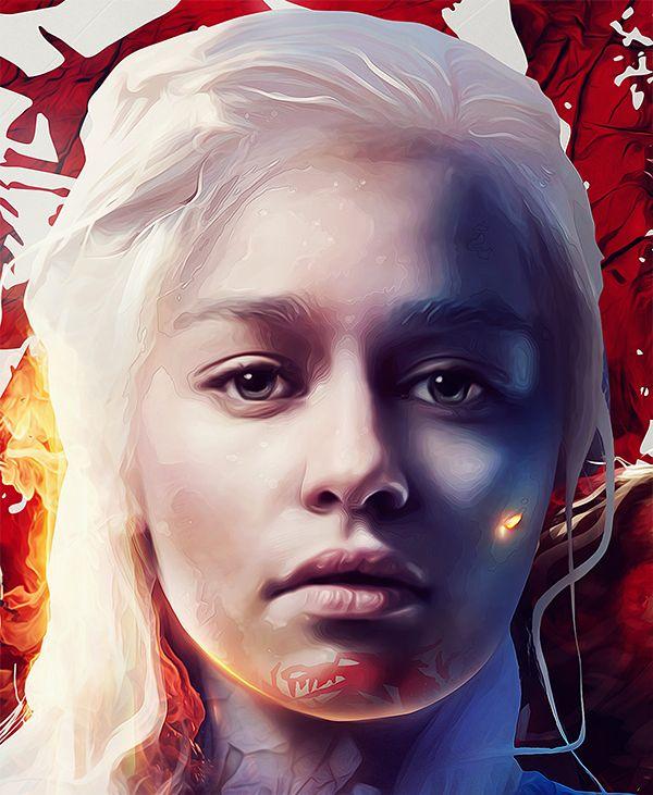 'Game of Thrones' art by Adam Spizak