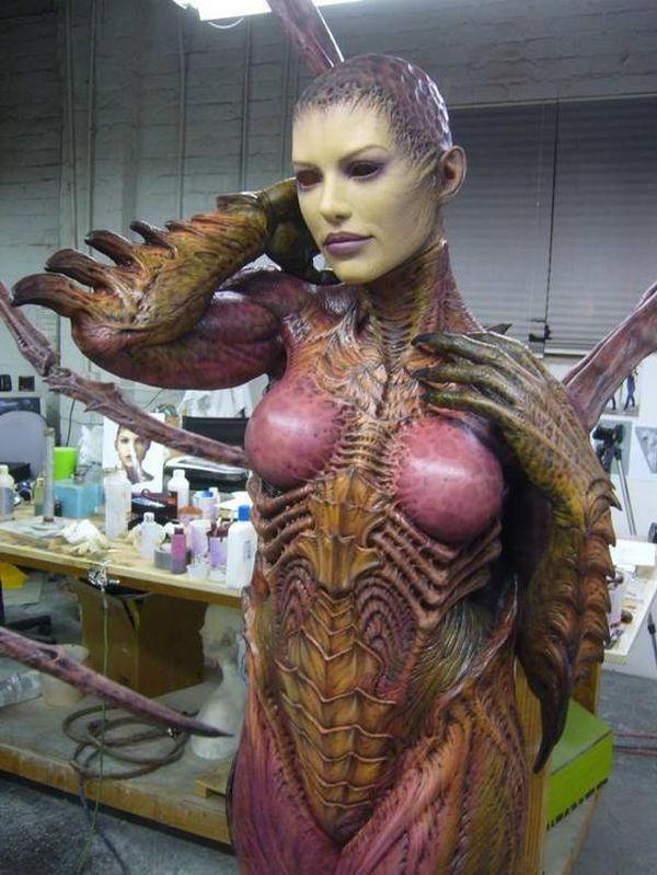 Life-Size StarCraft Sarah Kerrigan Sculpture